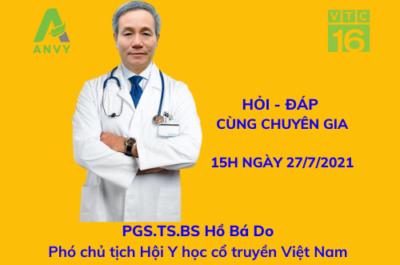 Anvy đồng hành tài trợ Chương trình tư vấn sức khoẻ trên VTC16 chủ đề Trào ngược dạ dày thực quản